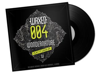Art work pour les disques de Sweetwax Recordings