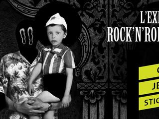 "Exposition ""Rock'n'Roll's Not dead !"" au Point Ephémère"