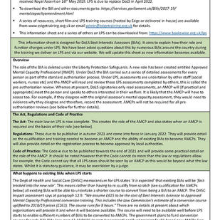 LPS BIA information sheet December 2020