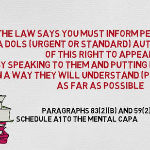 DoLS Section 21A Appeal