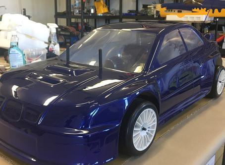 Subaru 4WD, gas 26cc engine, scale 1:5
