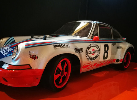 Porsche 911, Tamya 1:10. Build by Roman