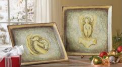 Lenox China Angel Plates