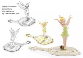 Tinkerbelle Lenox China/Disney Figurine