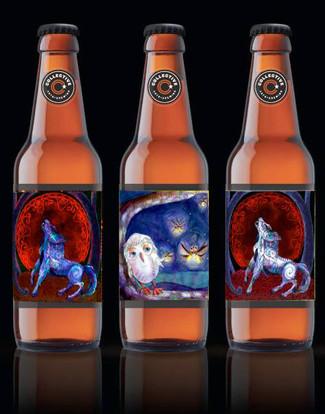 Illustrated Craft Beer label artwork