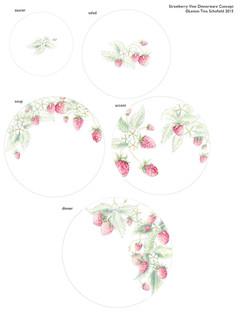 Lenox China Strawberry Fields Dinnerware