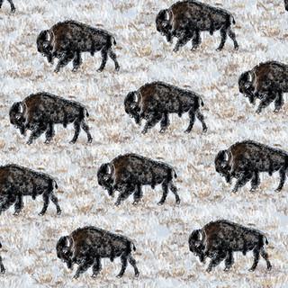 Where The Buffalo Roam Pattern