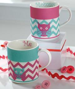 Lenox China Mom and Me Mugs
