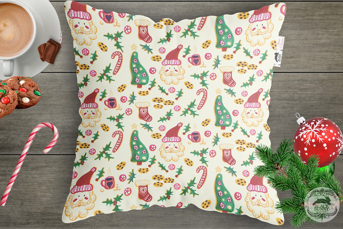 Santa's Cookies Pattern