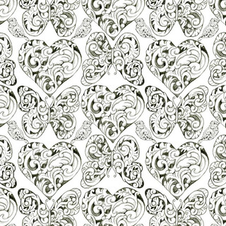 Vintage Scrolls Pattern