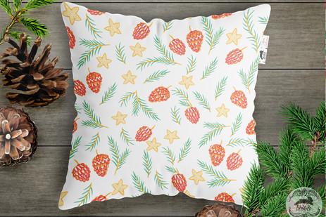 Fir Tree Repeat Pattern Design