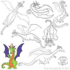 Devlin The Dragon Kid's Castle Mascot