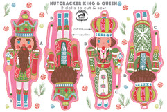 Nutcracker Cut & Sew Tea Towel