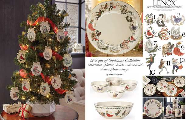Lenox China 12 Days of Christmas Collection