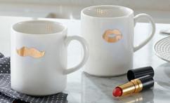 Lenox China His and Her Gifting Mugs