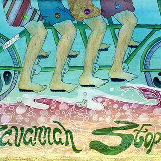 Gringo Star Savannah Stopover Music Festival Poster Art