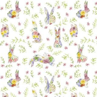 Spring Bunnies Pattern