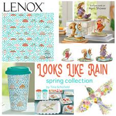 Looks Like Rain Lenox China Spring Design Collection