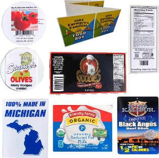 Custom Branded Food Labels