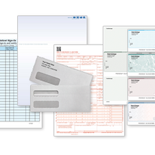 Checks, Forms, Envelopes