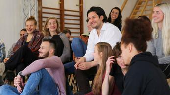 Francisco Medina and Acting Students Momentum Medina Masterclass