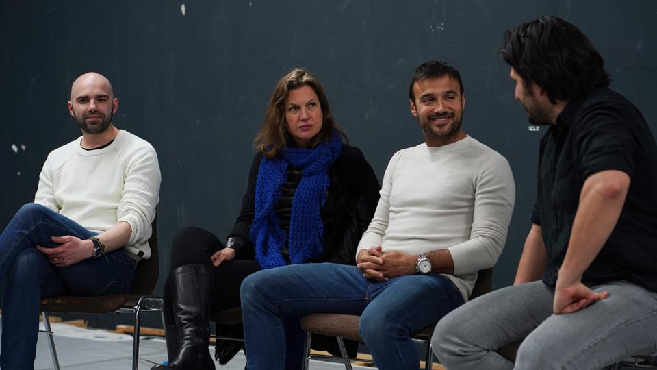 Casting Director Nancy Bishop, Casting Director David Stejskal, Agent and Acting Coach Francisco Medina
