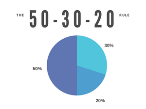 The 50-30-20 Rule. am I saving enough to retire?