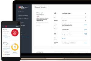 Lifelock for protection against identity theft