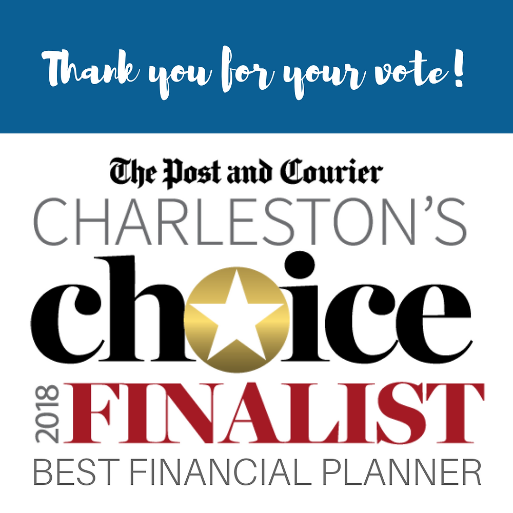 Best Financial Planner Finalist Convergent Financial Group The Post & Courier Charleston's Choice 2018 Awards