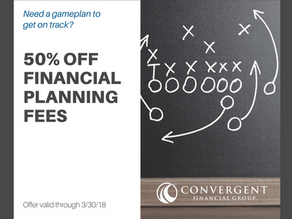 50% Off Financial Planning Fees