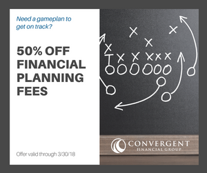 how much financial planning costs half off fees