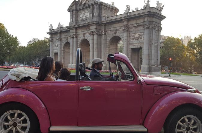 Travelling in the Vintage Convertible Car