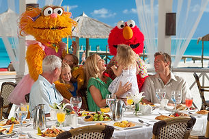 Proud sponsor of Sesame Street ®, Beaches® Resorts is honored to provide a positive vacation experience