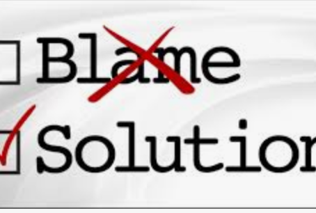 Stop Blaming (yourself)