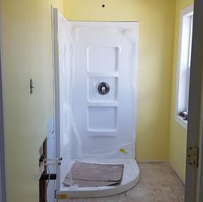 We added 3 brand new washrooms