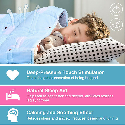 Childrens Sensory Weighted Blanket