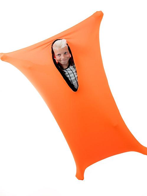 Orange Busy Blanket Sensory Sack