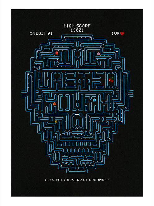 Wasted Youth, Giclee Print