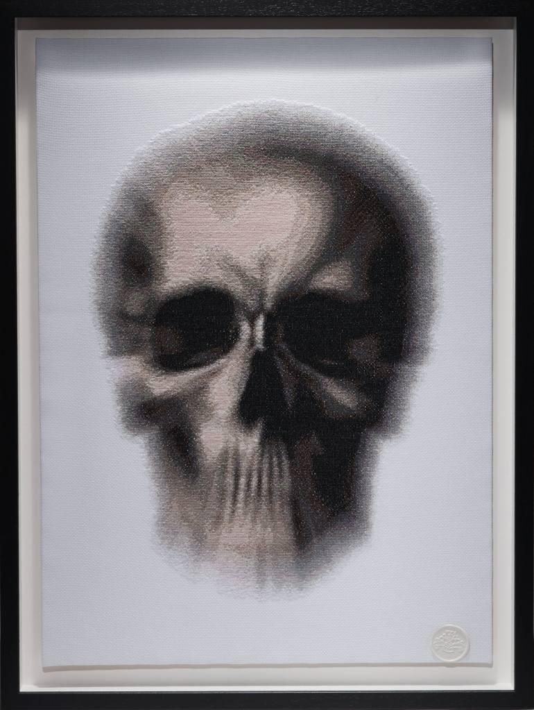 Blurred Skull