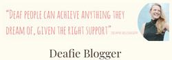 Deafie Blogger