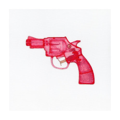 Play Fight (Pink), Giclee Print