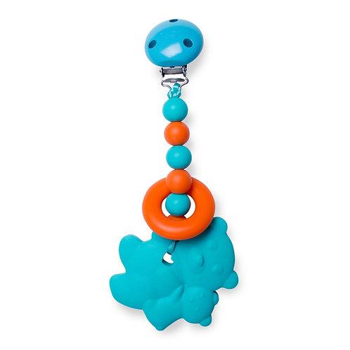 Clippable Teddy Bear Teething Toy