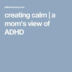 MOMS ADHD