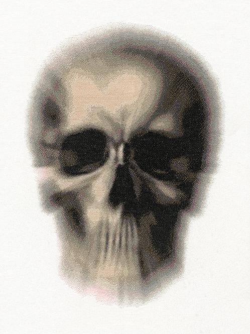 Blurred Skull, Giclee Print