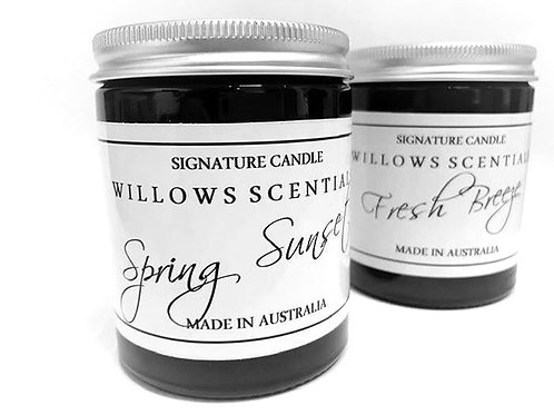 Spring Sunset Essential Oil Jar Candle