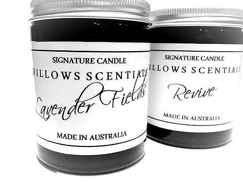 Lavender Fields Essential Oil Jar Candle