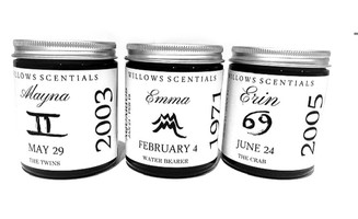 Birthdate Candles - Add your details