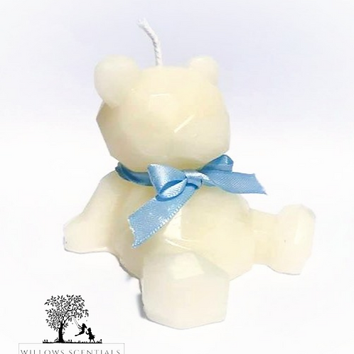 Teddy Bear Candle (Or Cake Topper)