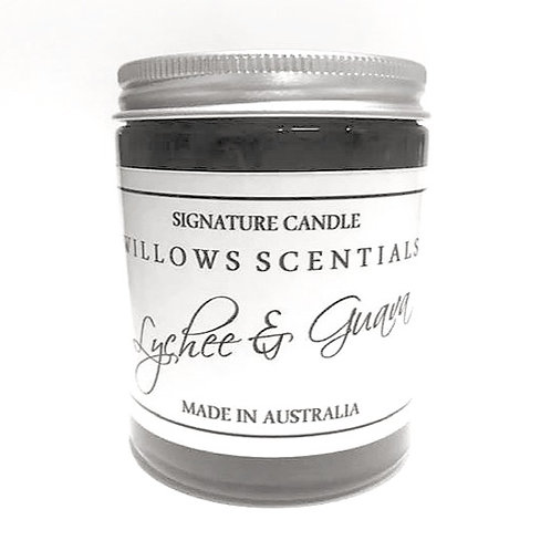 Lychee & Guava Sorbet Scented Candle