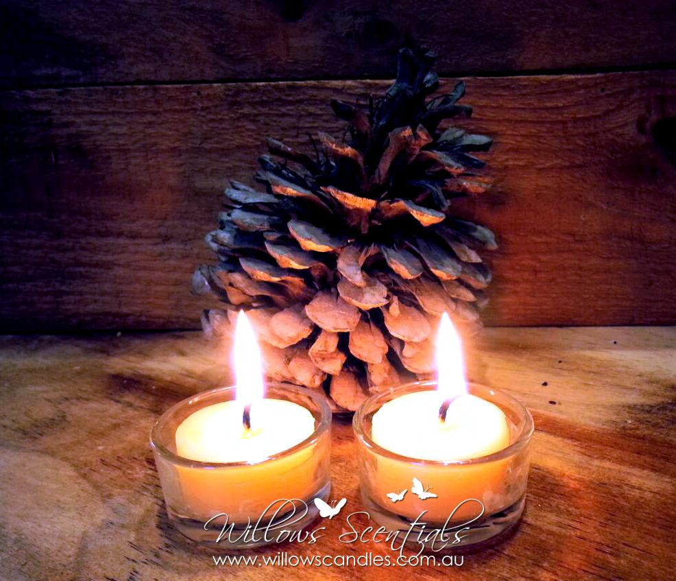beeswax tealight tea light candles